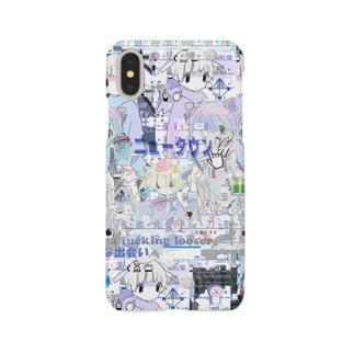 あんしん×リスカちゃん Smartphone cases