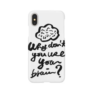 brain スマートフォンケース