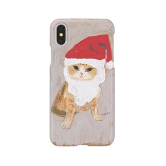 サンタポラースちゃん Smartphone cases