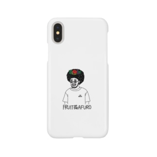 FRUIT OF THE AFUROくん iPhoneケース Smartphone cases