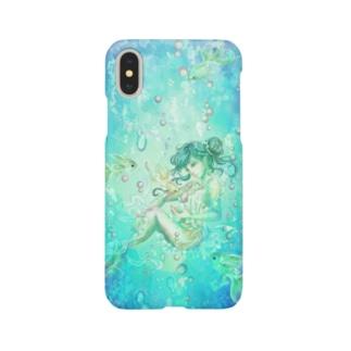 シュノーケリング Smartphone cases