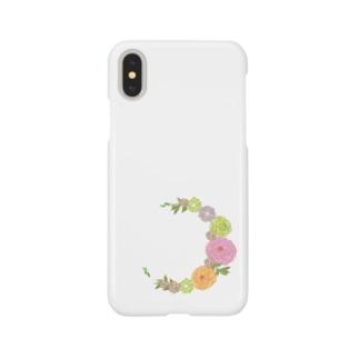 Crescent Bouquet Smartphone cases