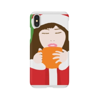 Santa Girl Smartphone cases