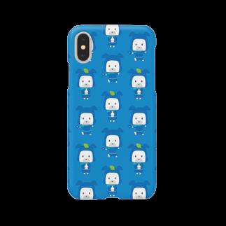 HAPPYDOG製作所@SUZURI支店のHAPPY DOG WORKS 忍者_模様A スマートフォンケース