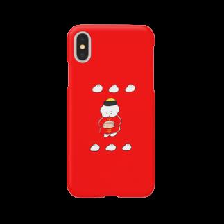 ワヌ山の中華なワヌちゃん Smartphone cases
