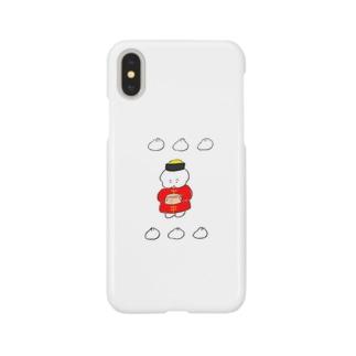 中華なワヌちゃん スマートフォンケース