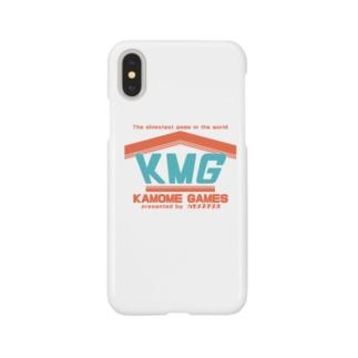 KMGロゴスマホケース Smartphone cases