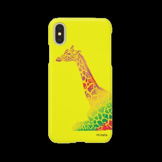 陽向のきりん Smartphone cases