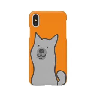 短毛たち耳くろちゃん Smartphone cases
