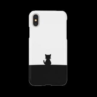 chi-bitのまえもうしろもねこ(長い尻尾) Smartphone cases