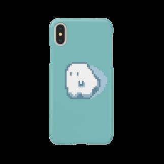 みいこのおばけドット Smartphone cases