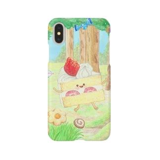 ケーキちゃん Smartphone cases