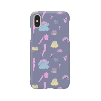 バラバラドールのテキスタイル Smartphone cases