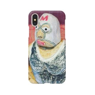 マスク・ド・Mカラス Smartphone cases