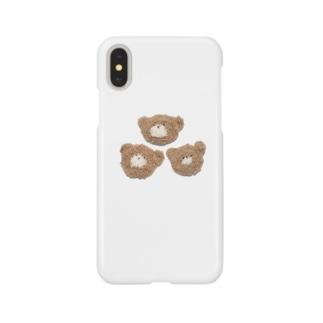 くまの吉田さんファミリー Smartphone cases