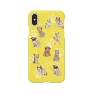 dog's パラダイス スマートフォンケース