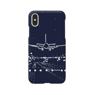 パイロットになる Smartphone cases
