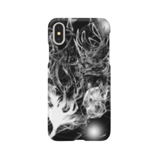 Black drawing Smartphone cases