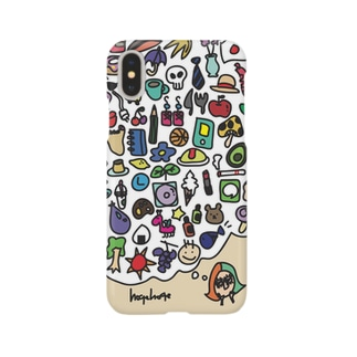 hogehoge 考えごと Smartphone cases