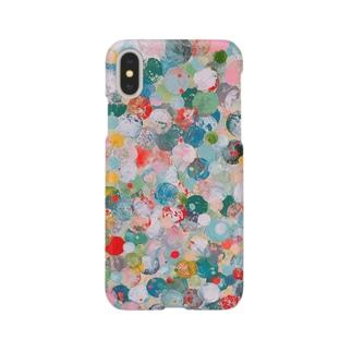 激しめドット Smartphone cases