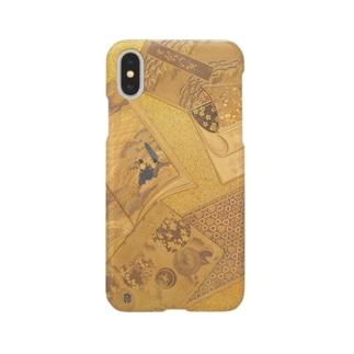 歌集蒔絵硯箱 Smartphone cases