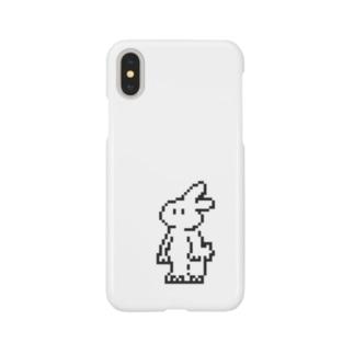 8bitきくらげちゃん Smartphone cases