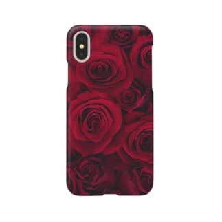 RED ROSE -Type.1.1- Smartphone cases