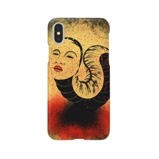 Worm of inferno Smartphone cases