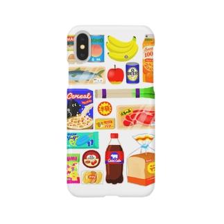 スーパーマーケット(ちらし) Smartphone cases
