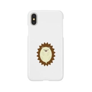 ハリネズミ-1 Smartphone cases