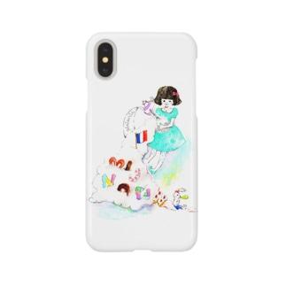 ミニョンヌちゃんとうさぎ Smartphone cases