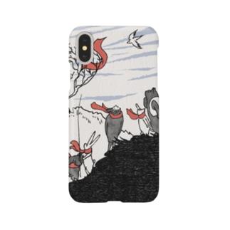 いきものマフラー Smartphone cases