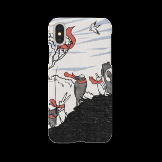 石川ともこのいきものマフラー Smartphone cases