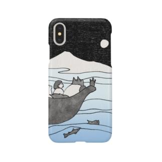 お月見隊 Smartphone cases