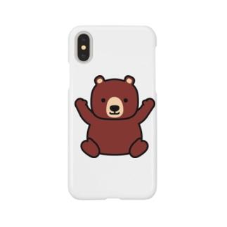 きまぐれクマー Smartphone cases