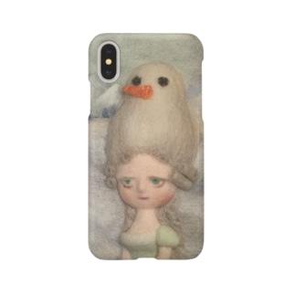 雪だるまの貴婦人 Smartphone cases