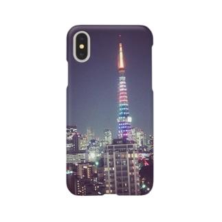 ある日の夜景🗼 Smartphone cases