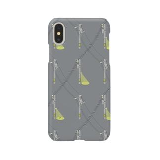 電信柱(Night) Smartphone cases