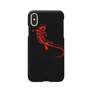 いもりiphoneケース Smartphone cases
