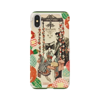 【VISION】椿姫 Smartphone cases