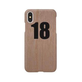 靴入れの番号札 Smartphone cases