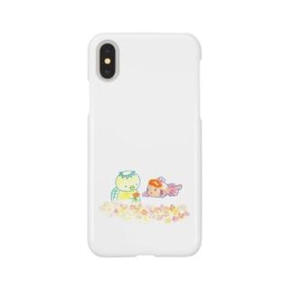 かっぱときんぎょ Smartphone cases