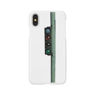 信号機 Smartphone cases