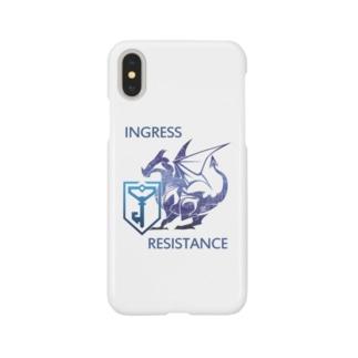 INGRESS RESISTANCE BlueDragon3 Smartphone cases