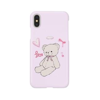 ゆわかわいい くまちゃん Smartphone cases