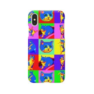 人の家の猫 Smartphone cases