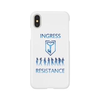 INGRESS RESISTANCE People00 Smartphone cases