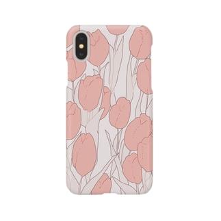 いちめんのチューリップ Smartphone cases