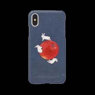 SCHINAKO'Sのアップル・プラネット Smartphone cases