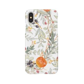 りんごと花 Smartphone cases